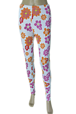 Tecot Printed Legging (White)