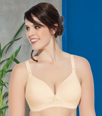 Enamor F065 Invisible Neckline T-Shirt Bra - Padded • Wirefree • High Coverage